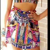 Camilla Franks Woven Wonderland Silk Tube Top or Skirt Size 1 Small 4 Express Photo