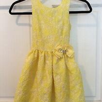 Camilla Girls Dress Nwot Sz 6  Yellow Brocade So Pretty 135 Photo