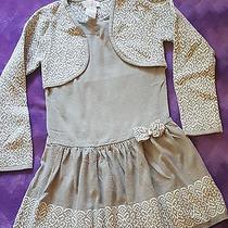 Camilla Girls Grey and White Dress Size 6x Photo