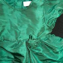 Camilla Infant Girls Green Party Dress Sz3t Photo