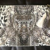 Camilla Large Canvas Clutch Rare - Espiritu  Photo