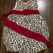 Camilla Leopard Print Fluffy Girl's Baby Toddler Kids 2t Dress Easter Photo