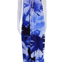 Camilla Loves Intermix Womens Sleeveless Tie Dye Silk Maxi Dress Blue Size 1 Photo