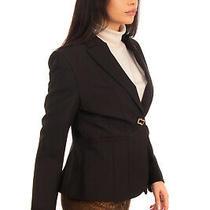Camilla Milano Blazer Jacket Size 40 S Single Breasted Peak Lapel Made in Italy Photo