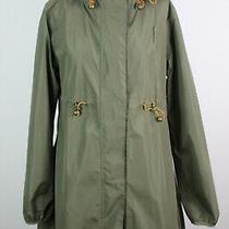 Camilla Morch Olive Rain Coat Size M Photo