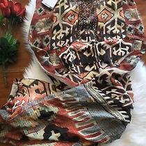 Camilla Pilgrim Weaving Skirt Long Back Overlay 4 Express Size 2 Medium Franks Photo
