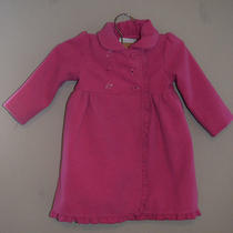 Camilla Pink Long Girls Dress Coat 24 Months 2t Vguc Washable Photo