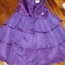 Camilla Purple Dress  Size 24 Months. Beautiful Photo