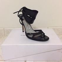 Camilla Skovgaard Black Patent Leather Sandals 41 Size Photo