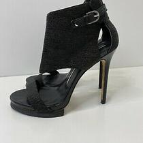 Camilla Skovgaard Black Stilletto Heel Size 40 Euc  Photo