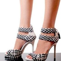 Camilla Skovgaard Black White Sandals Photo