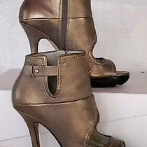 Camilla Skovgaard Heart Cut-Out Platform Booties Sz eu37.5 Saw Sole Photo