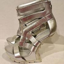 Camilla Skovgaard Heel-Less Sawtooth Leather Platform Lady Gaga Euro 40.5 Us 9 Photo