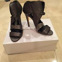 Camilla Skovgaard Sandals New in Box Metallic Leather Sz 37 ( Us 7) Retails 515 Photo