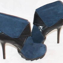 Camilla Skovgaard Saw Heel Platform Booties Ankle Boots Women's Sz 37.5 Photo