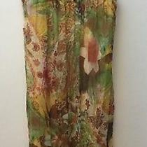 Camilla Stunning Embellished Silk Sheer Dress  - Suit Size 8-10 Photo