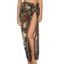 Camilla Swim 'Lost Paradise' Ring Trim Sarong Size S Photo