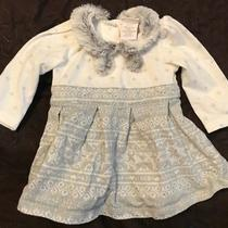 Camilla Sz 0/3mo Boutique Furry Dress Euc Photo