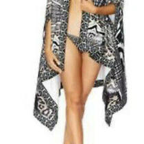 Camilla Tribal Theory Towel Poncho 4 Express One Size Franks Cape Cover Up Photo