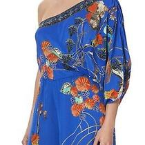 Camille One Shoulder Flared Jumpsuit Tree of Life Photo