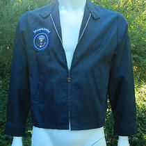 Camp David Jacket 1970's Nixon Era White House Presidential Retreat Size Large Photo
