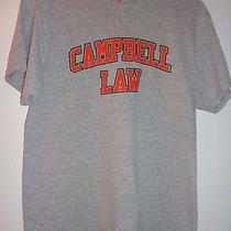 Campbel University Law Tshirt Size Medium Fol Brand Heavy Cotton Photo