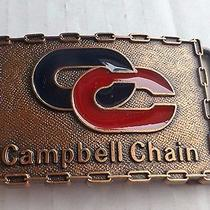 Campbell Chain Belt Buckle  Photo