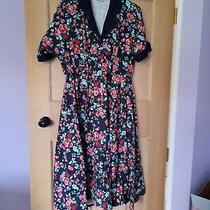 Campbell Crafts Maternity Vintage Style Dress Size 14 Great Condition Photo