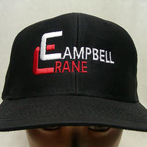 Campbell Crane - Embroidered - Adjustable Snapback Ball Cap Hat Photo