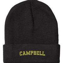 Campbell Last Name Embroidery Embroidered Beanie Skull Cap Hat Photo