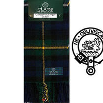 Campbell of Argyll Modern Tartan Scarf (Clan Scarf) - Pure New Wool Photo
