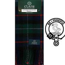 Campbell of Cawdor Modern Tartan Scarf (Clan Scarf) - Pure New Wool Photo