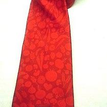 Campbell's Collectors Mens Red Neck Tie Made - 100% Polyester Photo