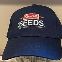 Campbell's Seed  Tomato  Blue Ag Agriculture Farmer Hat Cap   New  Photo
