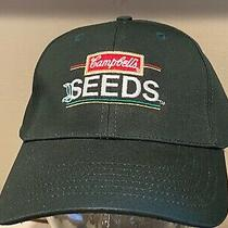 Campbell's Seed  Tomato  Green Ag Agriculture Farmer Hat Cap   New  Photo