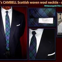Campbell Scottish Wool Necktie From Bbc Tv Wardrobe Photo