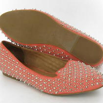 Campbell Slip on Flats Coral Womens Size 8.5 M Used 300 Photo