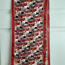 Campbell Soup - Andy Warhol - Silk Scarf -52