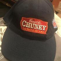 Campbells Chunky Soup Nfl Patch Vintage Hat Cap 90s Logo 7 Photo