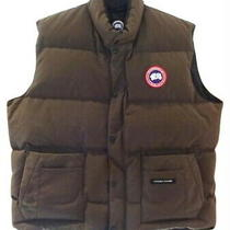 Canada Goose Vest Mens Xxl 2xl Brown Vintage 3 Way Pockets White Duck Down Nwot Photo