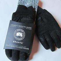 Canada Goose Woman Barletta Glove Black Gloves Sz L Brand New  Photo