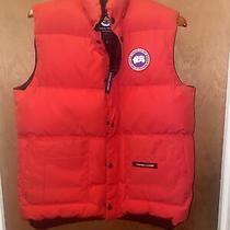 Canda Goose Men Red Vest Size M 100% Authentic Photo