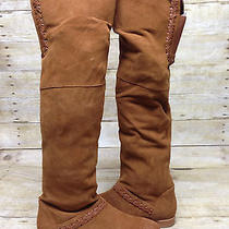 Candela Ivy Boot Cognac Womens Size 10 Photo