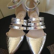 Candela Jon Snow Flats in Silver Size 8 Photo