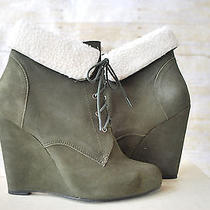 Candela Shiloh Wedge Forest Green Womens Size 9.5 Green Photo