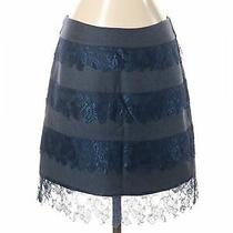 Candela Women Blue Wool Skirt S Photo