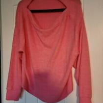 Candy Baby Pale Blush Pink Soft h&m Ladies Jumper Boat Neck Large  Photo