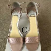 Caparros - Women's Evening Sandals - Blush Silk - Size 9m - New in Box-9 Photo