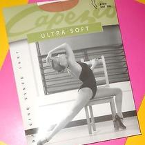 Capezio Ultra Soft Transition Tight Natural Size Xxl Convertible Tights New Photo