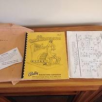 Captain Fantastic Pinball Machine Schematic Manual Parts Repair Restore Bally  Photo